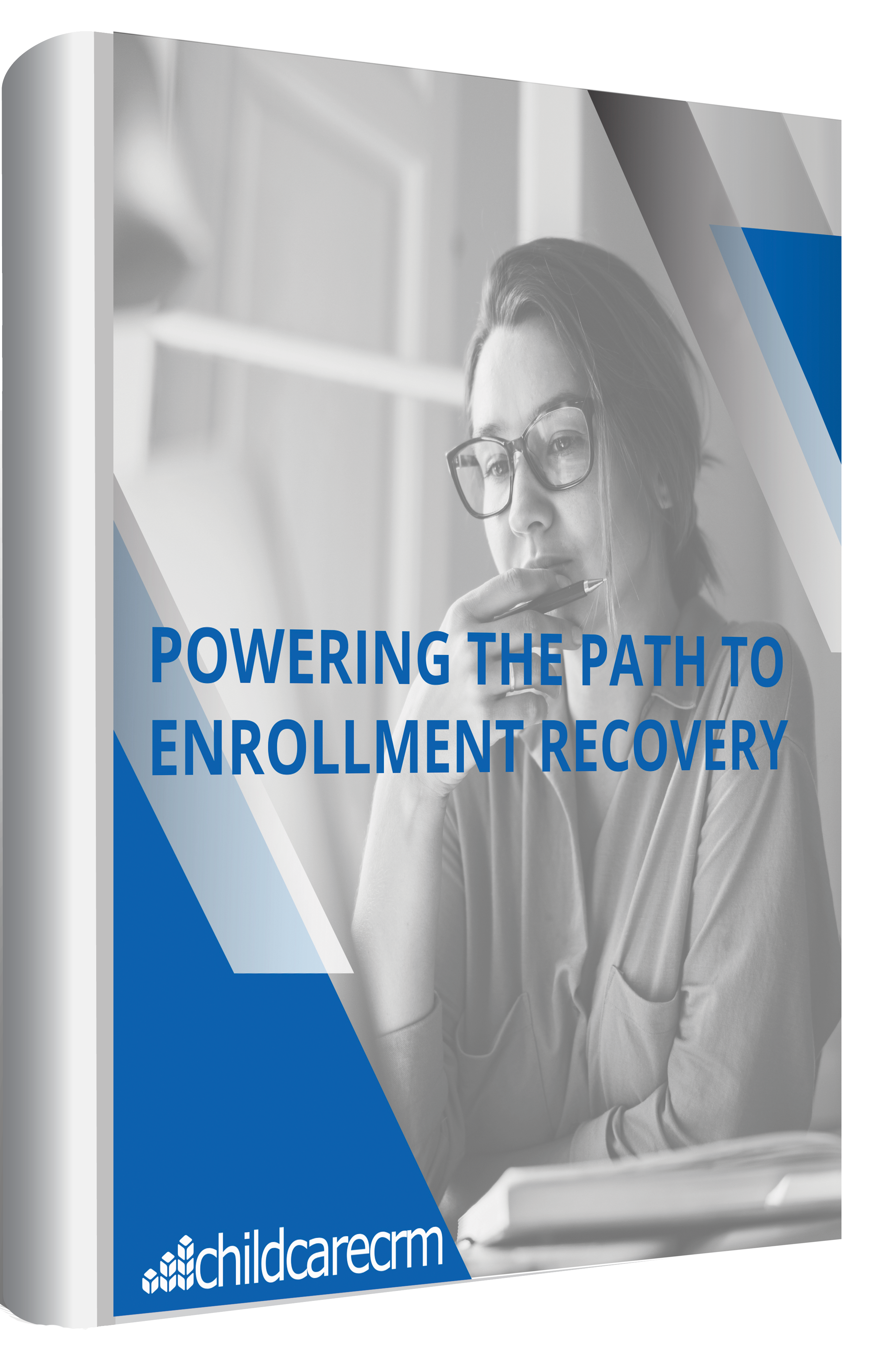 Portrait Powering Path to Enrollment recovery booklet cover